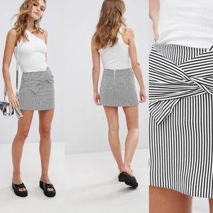 NEW ! Stripped Mini Skirt size XS/S